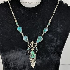 Vintage African Turquoise Necklace